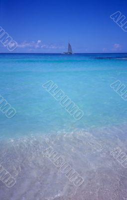 Blue lagoon - Bayahibe beach  - Dominican republic