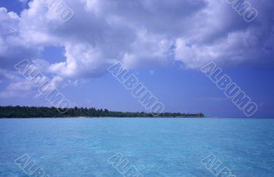 Saona island lagoon -Dominican republic