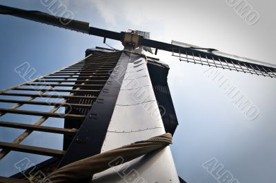 Detailed picture of Dutch windmill