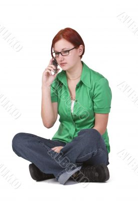 Bad news on the phone