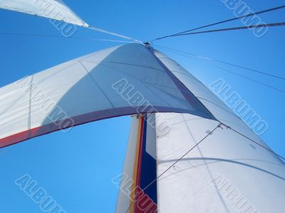abstract sailing