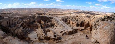 Herodion castle panorama