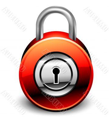 padlock detailed icon