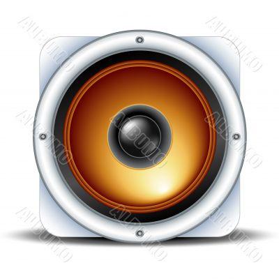 speaker detailed icon