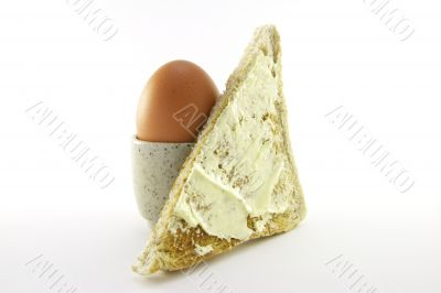 Lightly Boiled Egg and Toast