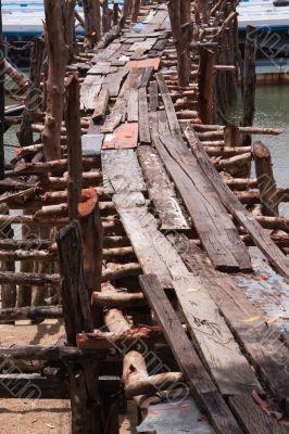 Old Wood Pier; Phang Nga Bay