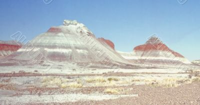 view of the painted desert in arizona