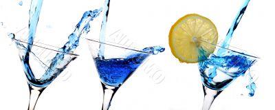 Blue alcohol