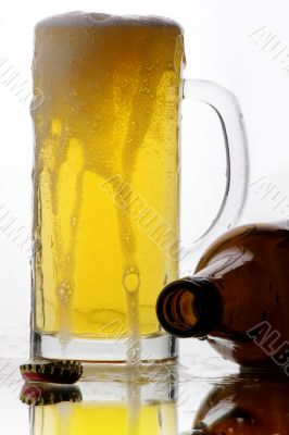 beer glass drink
