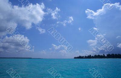 Saona island blue lagoon -Dominican republic