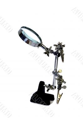 Magnifying glass - the assistant in any work