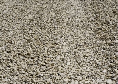 Pebble a widespread building material for roads