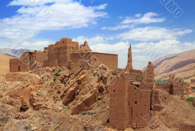 Ruins in Dades valley
