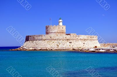 Fort Saint Nicholas, Rhodes, Greece