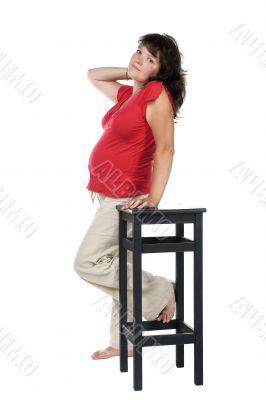 Portrait expectant mother
