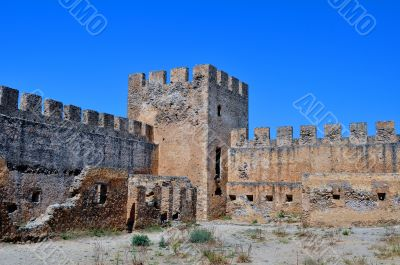 Rhodes fortress.
