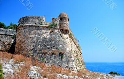 Fortetza: Venetian fortress in Rethymno, Crete