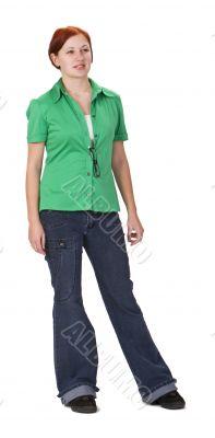 Redheaded teenager