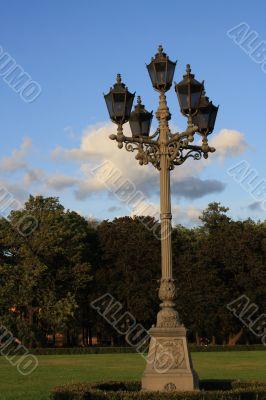 street lantern in Saint Petersburg