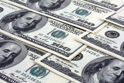 Paper dollars banknotes