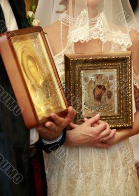 Ceremony of wedding