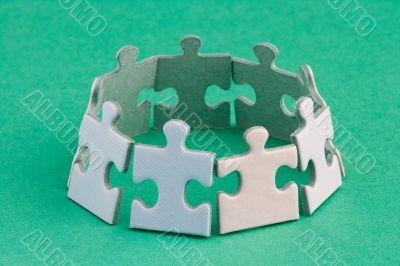 Jigsaw ring