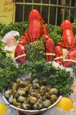 Belgian seafood restaurant
