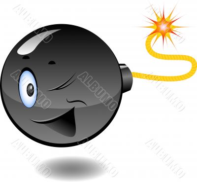 Bomb - series of cartoon bombs