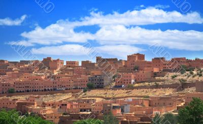 small Moroccan town