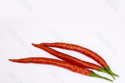 Fresh Ripe Cayenne Peppers