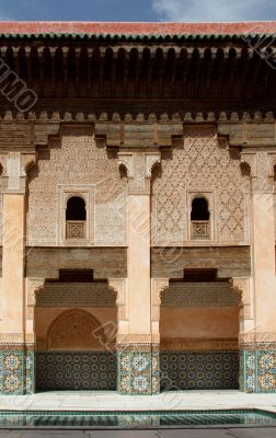 Courtyard of Ali Ben Youssef Madrasa