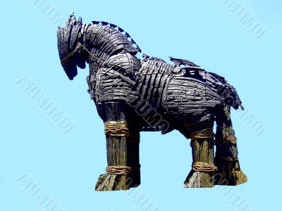 Trojan, symbol, background, animal, abstract,