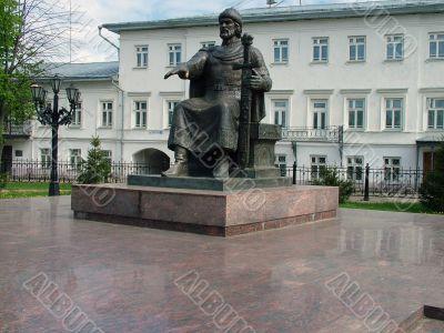 Monument of Yuri Dolgorukyi in Kostroma