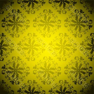 golden wallpaper repeat