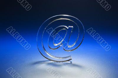 Internet symbols.