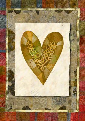 Heart,watercolor