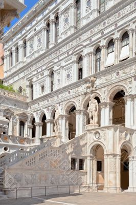 Court Of The Doges Palace in Venice