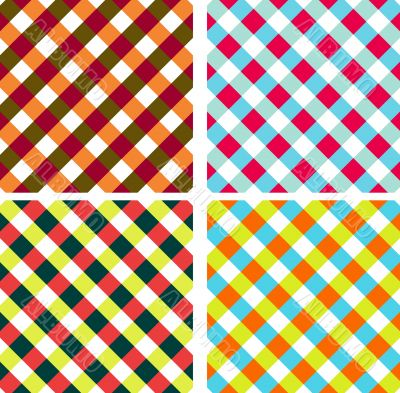 Vector cross-weave background. Napkins vector patterns, tag, pap