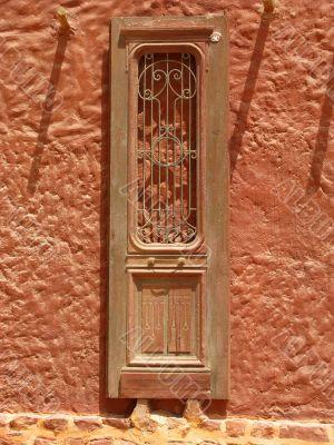 Old orient door