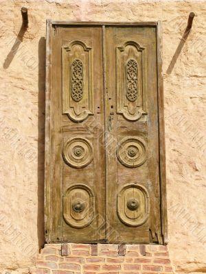 Oriental wooden doors