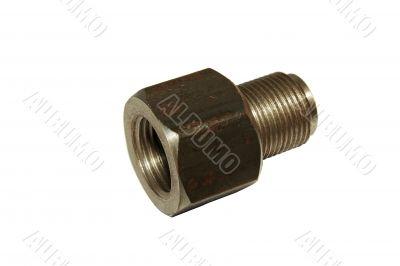 Adapter for pressure gauge.