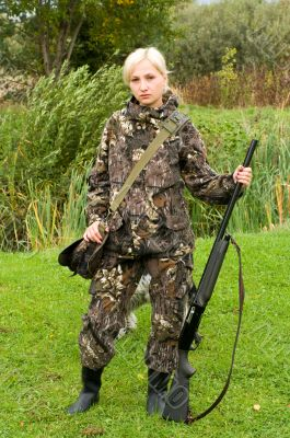 Girl hunter.