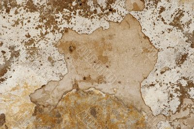 old grunge wall - plaster