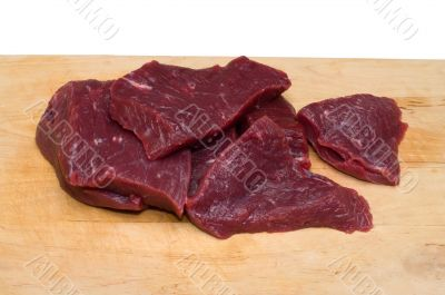 Piece of beef.