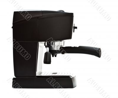 espresso machine side view