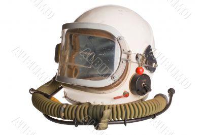 Soviet military pilot helmet.Russia.