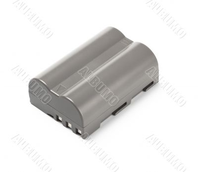 grey lithium-ion battery for dslr camera