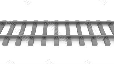gray 3d rails horizontal