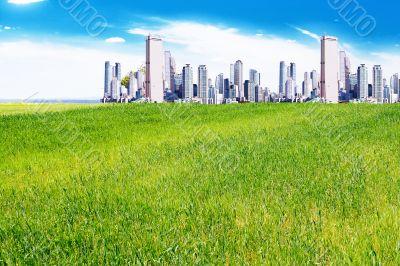 city on the plains