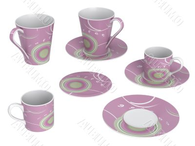 Cups and dishes